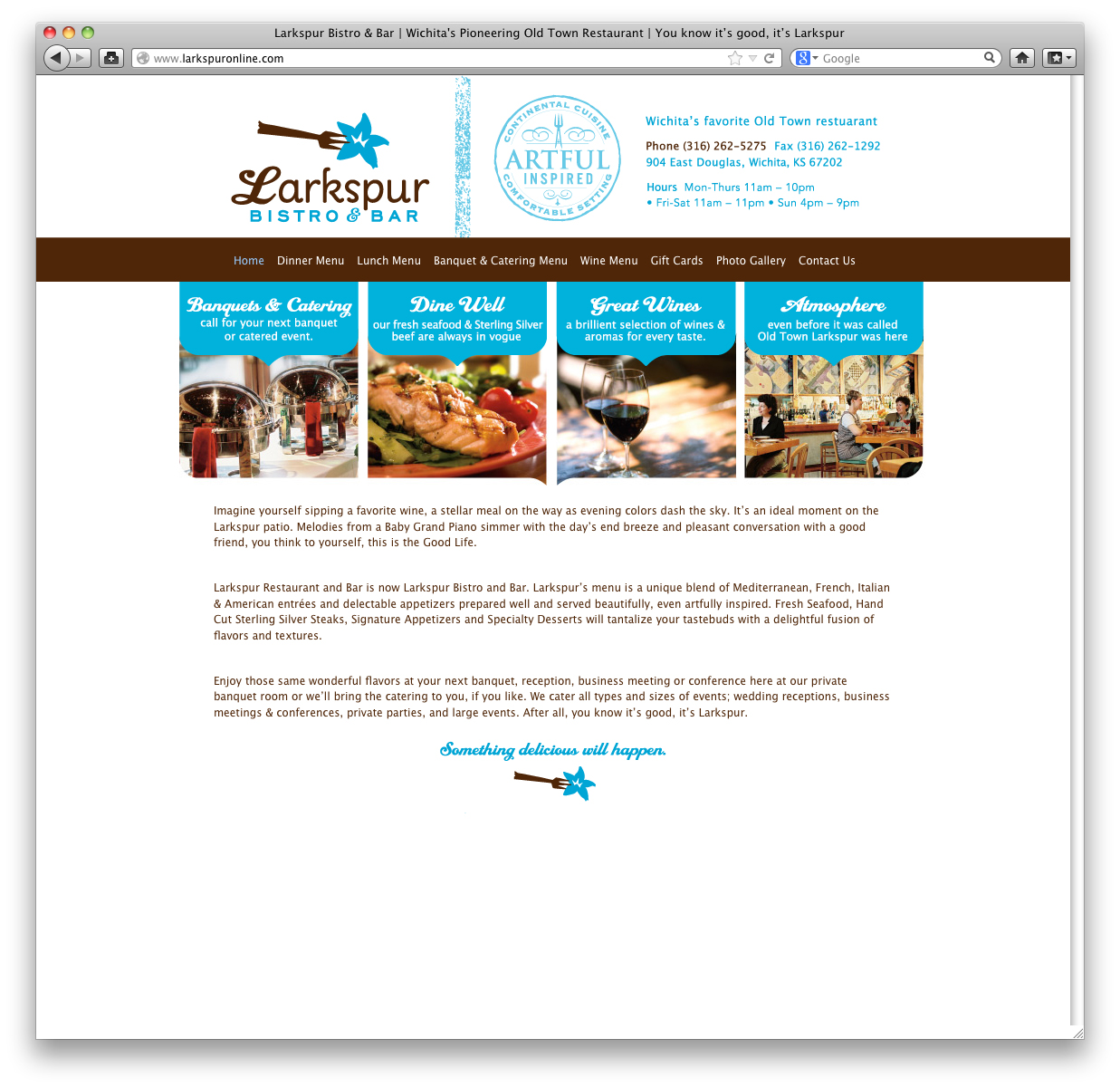 WebsiteDesignWichitaRestaurant