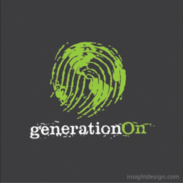 generationOn logo design
