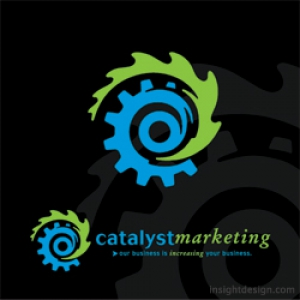 Catalyst Marketing logo design